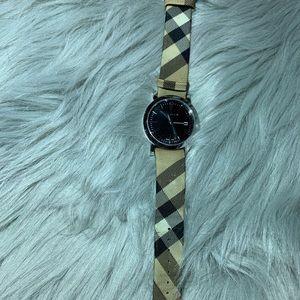 Men's Authentic Burberry Swiss Nova Check Watch